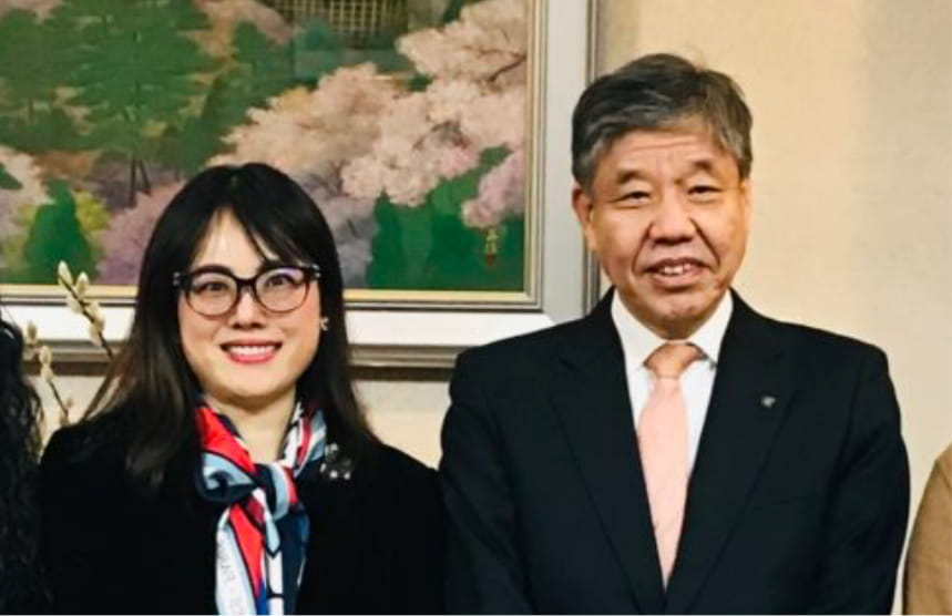 京都府副知事と対談